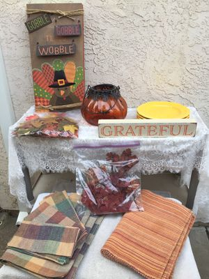Fall decorations galore part 2 for Sale in Antelope, CA