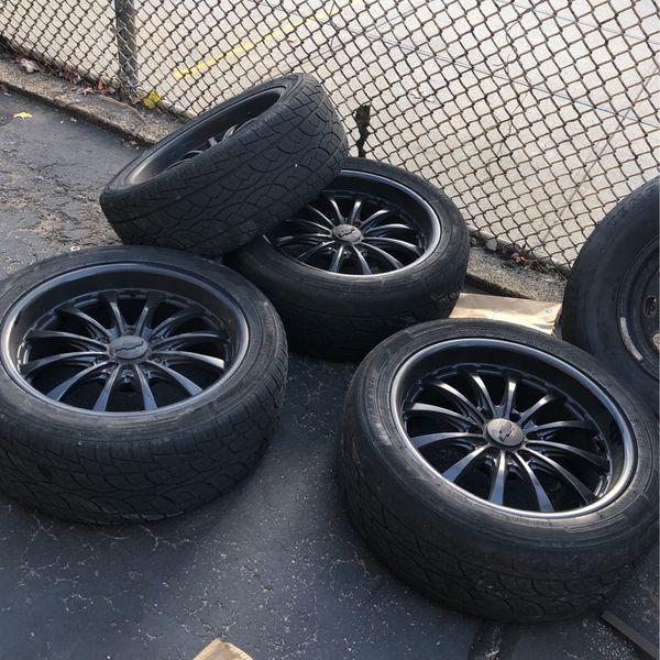 20 Inch Rims Chevy Paint Black
