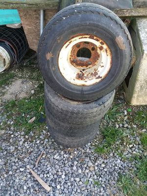 4 Golf cart tires and rims for Sale in Biglerville, PA