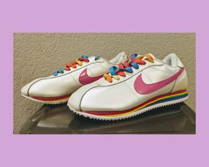 Nike Cortez Rainbow Sneakers Shoes for Sale in Commerce City, CO