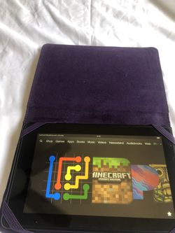 KINDLE FIRE WIRELESS WITH CASE COVER for Sale in San Diego,  CA