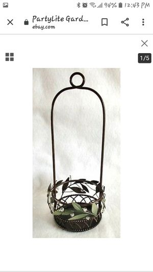 P8102 GARDEN LITES HANGING CANDLE HOLDER for Sale in Tacoma, WA