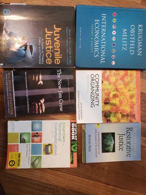 Criminal justice books for Sale in Peoria, IL