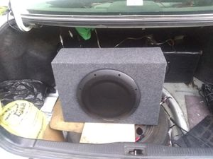 Pioneer 1210a powered subwoofer car/marine for Sale in Springfield, TN