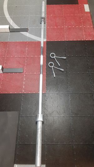 Olympic weights / bench press / Gym / pesas / barbell / gymnasio for Sale in Mesquite, TX