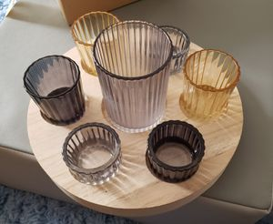 Brand new Rustic Candle Holder Set for Sale in San Diego, CA