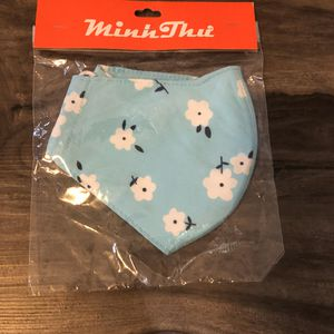 Blue floral cotton face mask for Sale in Dallas, TX