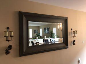 "Huge Grey Mirror 46""x 69"" for Sale in San Marcos, CA"