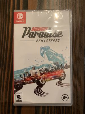 Burnout Paradise: Remastered for Nintendo Switch. Brand New & Sealed. for Sale in Brentwood, CA