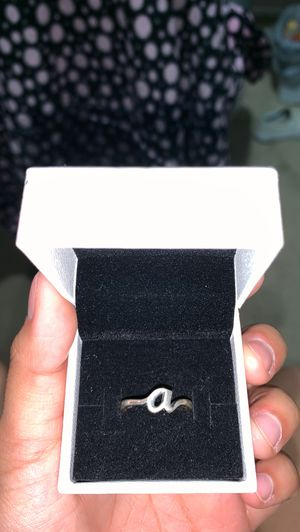 """James Avery """"a"""" initial ring for Sale in San Antonio, TX"""