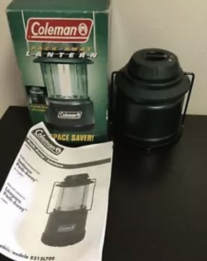 COLEMAN LED PACK AWAY LANTERN 5315L700 SPACE SAVER BOXES CAMPING FOLDING DURABLE for Sale in Brooklyn, NY