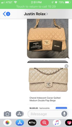Chanel bag only 3 months old for Sale in Clarkston, GA