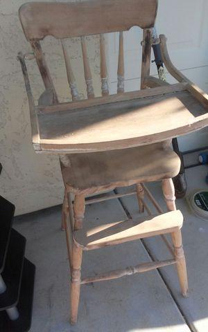 Antique baby chair for Sale in Phoenix, AZ