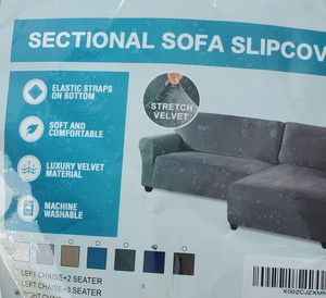 Slip cover for Sectional for Sale in Sacramento, CA
