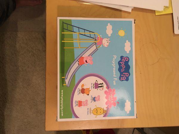 Peppa Pig Playground Fun Set