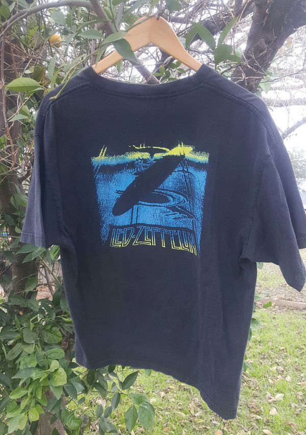 Vintage rare Official Led Zeppelin Concert Tour Band T-Shirt in great condition .