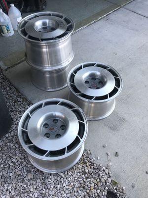 "Corvette wheels 16"" 5x120 vw gti golf rabbit mk1 mk2 mk3 for Sale in Las Vegas, NV"
