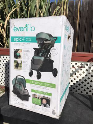 Evenflo Epic4 travel system for Sale in Highland, CA