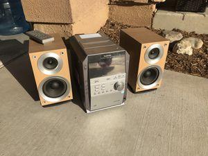 Panasonic CD Stereo System SA-PM 193 for Sale in Corona, CA