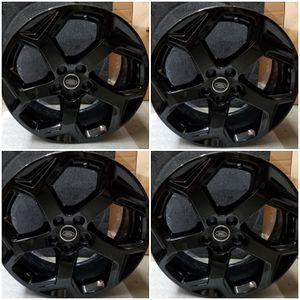 """20"""" Range Rover OEM Wheels Rims Black for Sale in Los Angeles, CA"""