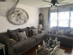Large gray couches for Sale in Ceres, CA