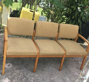 Office chairs they are all together for Sale in Homestead, FL