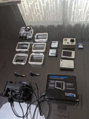 GoPro Hero 2 w/ various accessories for Sale in Mesa, AZ
