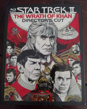 STAR TREK THE WRATH OF KHAN (BLU RAY) ***SEE OTHER POSTS*** for Sale in El Cajon, CA