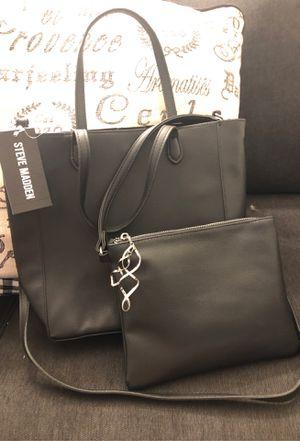 Black Steve Madden tote with makeup bag for Sale in Fort Lauderdale, FL