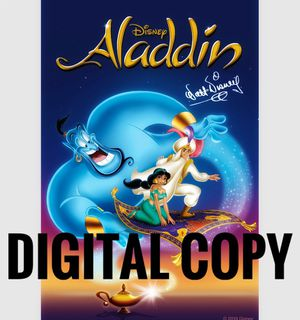 Disney Aladdin Digital Code for Sale in Los Angeles, CA
