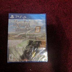 Farming Simulator 19 PS4 Game Brand New In Plastic for Sale in Cheshire, CT