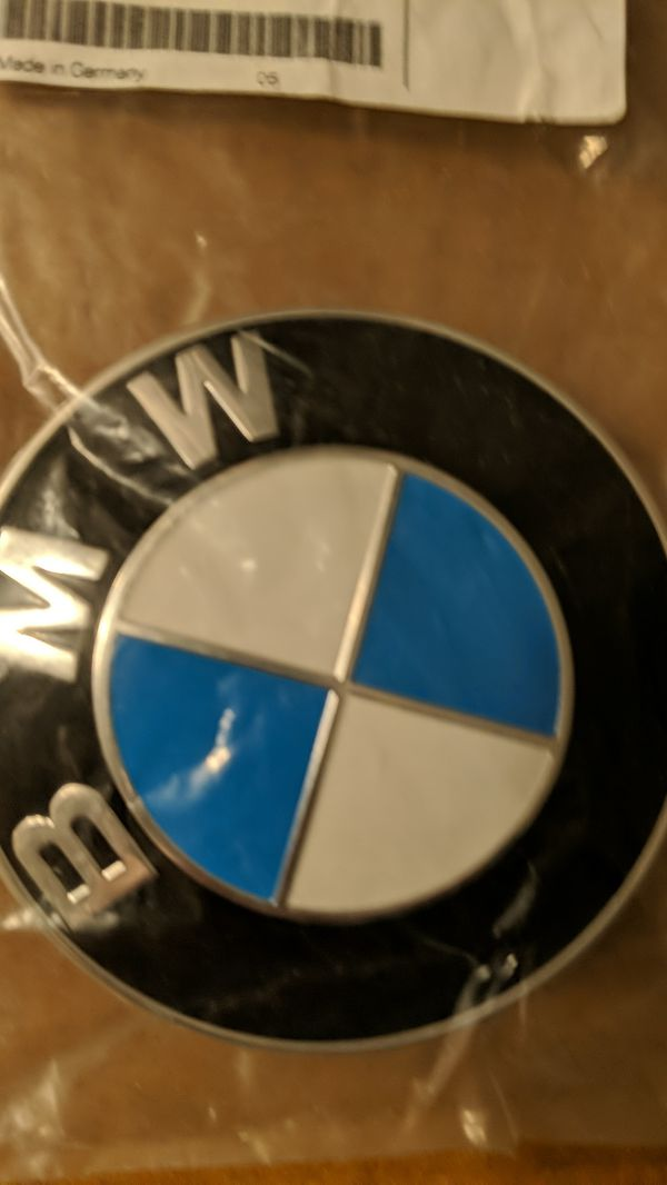 BMV Genuine 51148132375 Trunk Lid Emblem