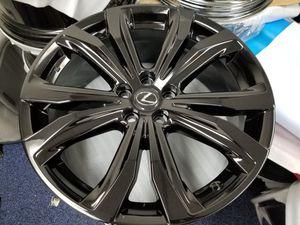 """New OEM 20"""" lexus Rx350 Black Wheels rims for Sale in Los Angeles, CA"""