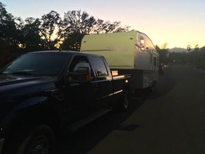 Hauling 5th wheel travel trailers and gooseneck trailers for Sale in Redding, CA