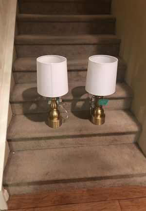 New lamps price firm pick up only location Reedley Reedley for Sale in Reedley, CA