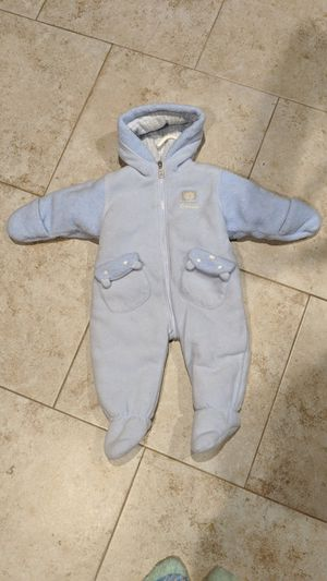 Oshkosh baby snow suit 6/9 (two-toned Baby Blue) for Sale in Surprise, AZ