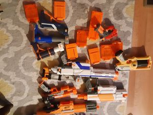 Nerf gun lot w/clips for Sale in Mebane, NC