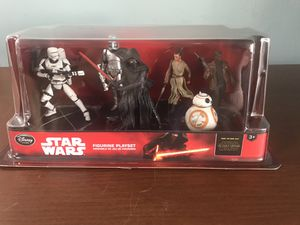 StarWars 6 figurine playset for Sale in Keizer, OR
