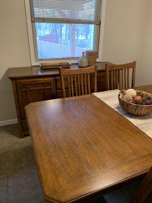 Crystal Ridge Buffet - Oak for Sale in Zelienople, PA