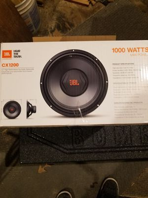 JBL 1000W Car audio subwoofer for Sale in Mechanicsville, MD