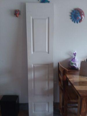 3 panel hollow core door 79 1/2 in X 18 in for Sale in Lakewood, CO