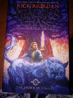 Magnus Chase and the GODS of ASGARD (signed copy) & books 2 & 3 for Sale in Marion, IL