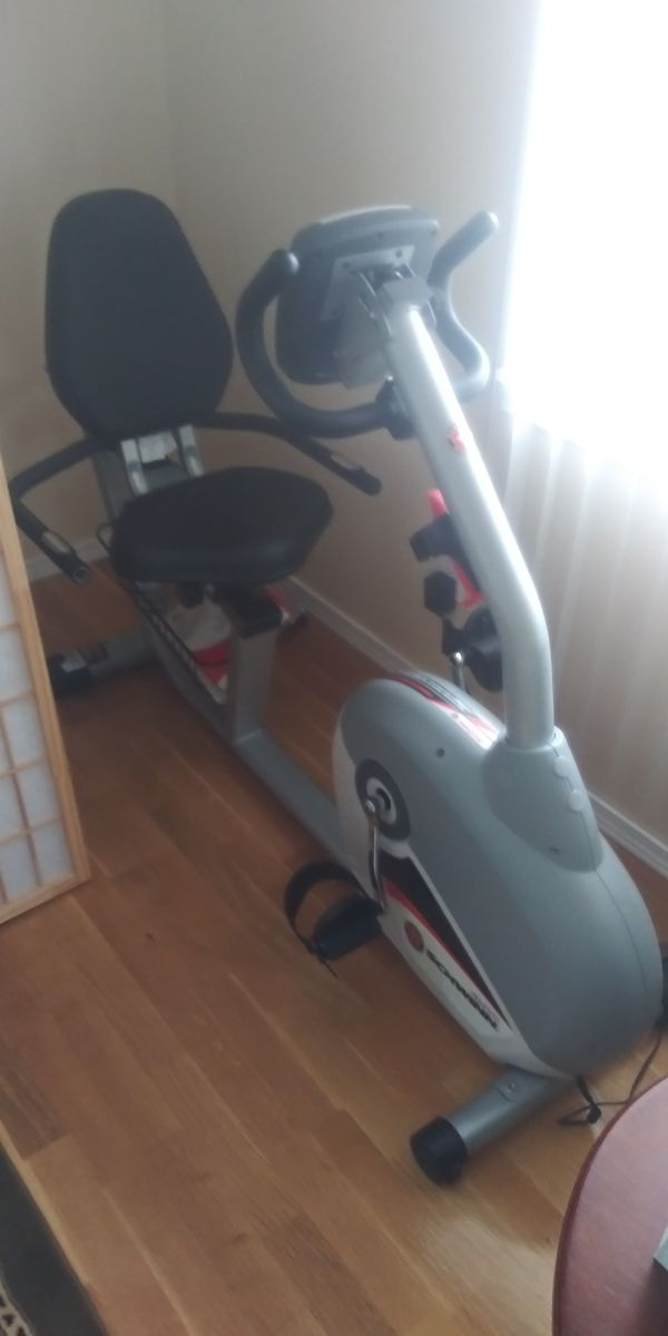 Schwinn exercise bike top line