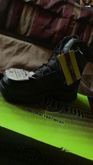 Interceptor Force steel toe boots size 8 for Sale in Elgin, IL
