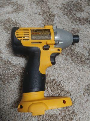 Dewalt Model DW054 14.4 Volt Heavy Duty 1/4 Cordless Impact Driver Tool Only for Sale in Deerfield Beach, FL
