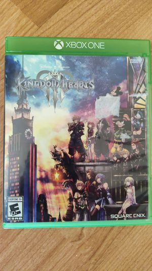Kingdom hearts 3 Xbox one for Sale in Upland, CA
