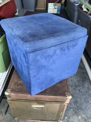 Blue square storage container for Sale in Cape Coral, FL