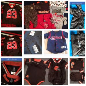Sports themed kids clothes $10-20 for Sale in Berea, OH
