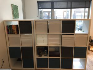 IKEA box shelving for Sale in Seattle, WA