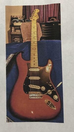New fender players series pd. $650.00 sale for $350.00 for Sale in Lynchburg, VA